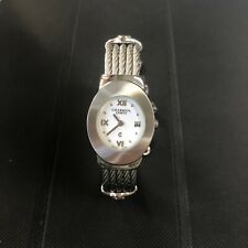 CHARRIOL AZURO STAINLESS STEEL QUARTZ LADIES WATCH