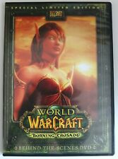 DVD R2 - World of Warcraft Burning Crusade - Behind the Scenes DVD - Preowned