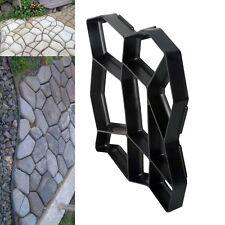 Pavement Concrete Mold Garden Walkway Path Maker Mould Plastic 43cm US STOCK