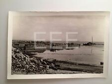 6/9/32 Foot Of Bay St Redhook Brooklyn NYC Old Photo PERCY SPERR 593A