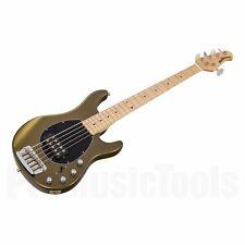 Music Man USA sterling 5 OG-oliva oro MN-demo * NEW * Bass Stingray
