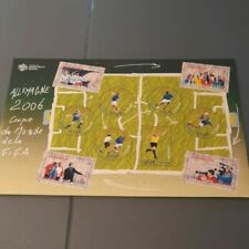 Timbres blocs de Europe, sur football