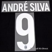 AC Milan Andre Silva 9 Football Shirt Name/Number Set Kit Home Serie a 2017/18