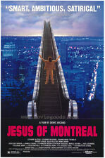 JESUS OF MONTREAL Movie POSTER 27x40 B Gilles Pelletier Lothaire Bluteau