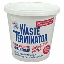 Waste Terminator Toughest Enzyme Digester Doggie Dooley Odors Control  Remover