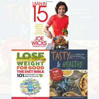 Joe Wicks Lean In 15 Minute Healthy Meals and Workouts 3 Books Collection Set