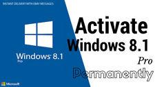 MICROSOFT WINDOWS 8.1 PRO 32 / 64 BIT || Original Key Activation