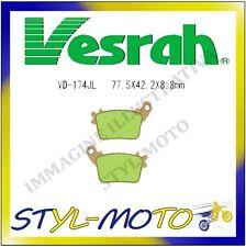 VD-174JL PASTIGLIE FRENI POSTERIORI SINTERIZZATE VESRAH CBR 600 RR 2009