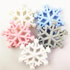 Baby Snowflake Shape Teether Newborn Nursing Baby Silicone Toys Multicolor HZ