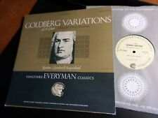 Bach Gustav Leonhardt  MINT LP  1965  Goldberg Variations  Aria With Thirty