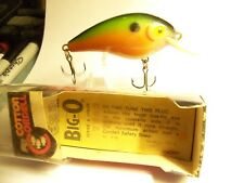 (1)Cotton Cordell Big-O #7863 (nisb) 2-1/2in.Body,Crankbaits,Lure,Old Tackle,Box