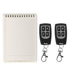 433MHz DC12V 4 CH Channel Wireless RF 4 Relay Remote Control Switch Receiver