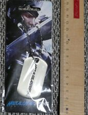 Metal Gear Rising Dog Tags Identity Tag with Chain New + OVP Revengeance