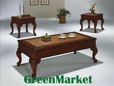 CM_Brand New 3-Pack Explorer Queen Anne Coffee & End Tables Cocktail Set