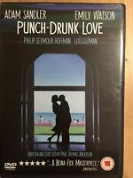 Punch-Drunk Love DVD 2002 Romantic Drama with Adam Sandler and Emily Watson