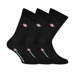 Champion Unisex Socks, 3 Pair - City Socks, Crew Socks Legacy, 43-46 UK 9-11