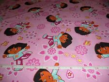 DORA THE EXPLORER  FABRIC - 5+  YARDS - BY THE YARD -