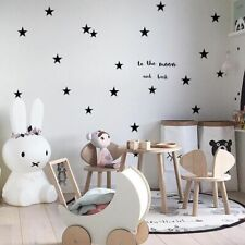 Baby Nursery Bedroom Stars Wall Sticker For Kids Room Home Children Decoration