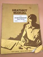 HEATHKIT HW-5400 SSB Transceiver Assembly Manual + Schematics Rare Original
