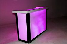 DJ Designer Glow Workstation/Facade/Booth -The Rinalgo by Dragon Frontboards