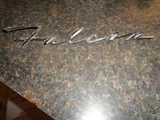 1960,1961,1962,1963 ford falcon fender emblem script