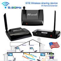 5.8GHz 300M HDMI 1080P in AV Sender TV Wireless Transmitter Receiver Audio Video