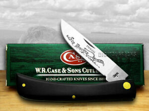 Case xx Sodbuster Knife Black Synthetic Handle Stainless Pocket Knives 00092