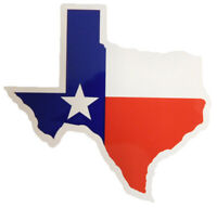 State of Texas Flag Map Vinyl Decal Bumper Sticker