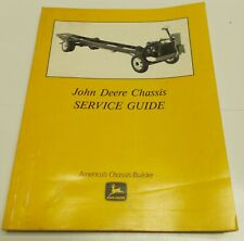John Deere Chassis Service Guide - March 1988 - Manual