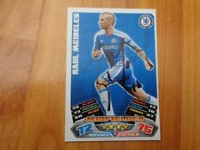 GENUINE HAND SIGNED RAUL MEIRELES CHELSEA FC MATCH ATTAX 2011-2012 CARD