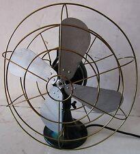 Emerson Electric Oscillating Four Bladed Fan (Emerald Green)