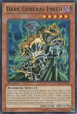 Yugioh: 3x Dark General Freed - LCYW-EN214 - Common - Unlimited Edition - Near M