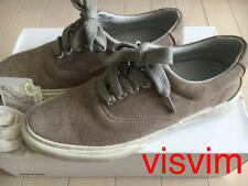 VISVIM Sneakers Flat Casual Shoes LOGAN DECK LO Sand Men US7 Suede Leather USED