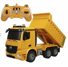 Large 14 Inch Rc Mercedes Benz Heavy Construction Dump Truck Remote Control