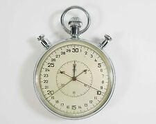 SLAVA Russian Soviet Stop Watch Mechanical stopwatch USSR 60's (sl16)