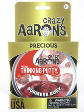 Burmese Ruby Precious Gems Crazy Aaron's Thinking Putty tin New 1.6 Oz