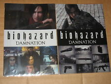 Resident evil Biohazard Damnation File / Mappe x 2 Capcom Japan