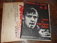MUSICA PER TUTTI n3 CELENTANO DI CAPRI SIDET LUGLIO1964