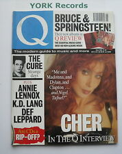 Q MAGAZINE - Issue 68 May 1992 - Cher / The Cure / Annie Lennox / k.d.lang