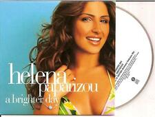 HELENA PAPARIZOU - a brighter day CD SINGLE 3TR CARD Europop 2005