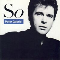 PETER GABRIEL so (CD, album) across, pop rock, synth pop, very good condition,