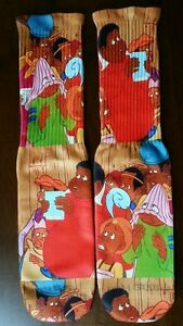 Custom Fat Albert dry fit socks V VI VIII grape bred gamma