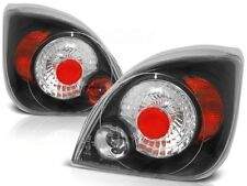 BLACK REAR TAIL LIGHTS LTFO27 FORD FIESTA 1995 1996 1997 1998 1999 2000-2002