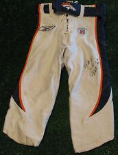 "ROD SMITH 2003 Denver Broncos Game Pants  Worn & Signed w/ ""ROF"" inscription"