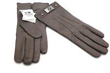 Coach New York Woman's Leather Cashmere Turn sv/hematite Grey 82815M 7.5