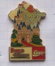 COCA-COLA / COKE  / EURO DISNEY / DUMBO............. Comic-Pin (144h)