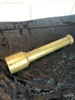 Vintage Brass Telecscope.  1 Piece Very Old