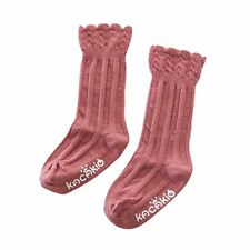 Baby Kid Girls Soft Cotton Princess Warm Socks Knee High Tight Hosiery Stockings