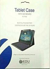BROWN MACKIE COLLEGE TABLET CASE WITH KEYBOARD FOR IPAD 2 - FREE SHIPPING