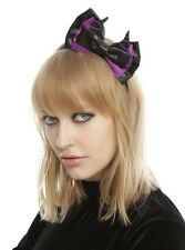 Disney Sleeping Beauty Maleficent Bow Headband Cosplay New With Tags!